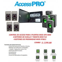 Access Pro IP Control Panel Combo