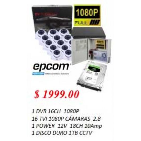 EPCOM 16 CAMERA Package
